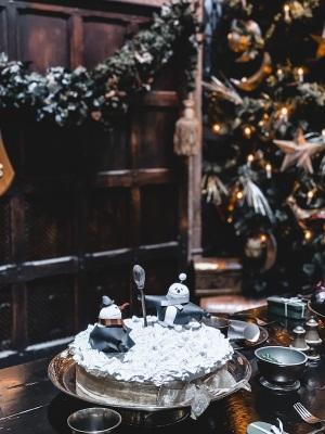 studio-tour-harry-potter-Londres-gâteau-grande-salle-noël