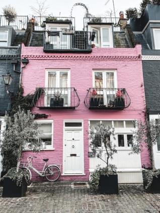 londres-st-lukes-mews-maison-rose