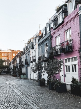 londres-st-lukes-mews-rue-coloree