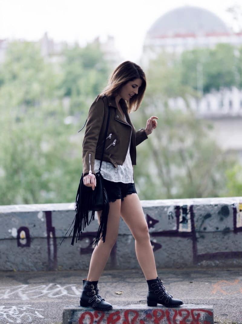 blouse romantique perfecto short boots