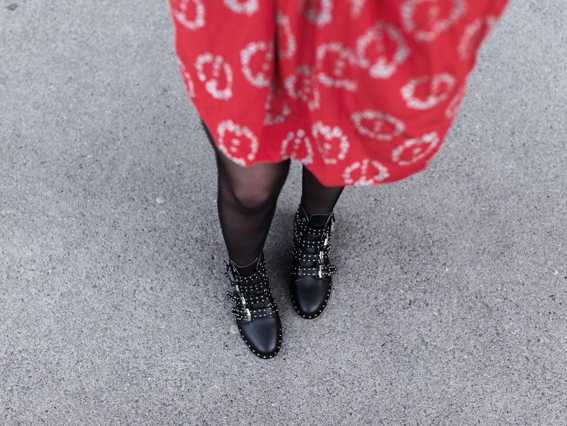 Robe perfecto boots