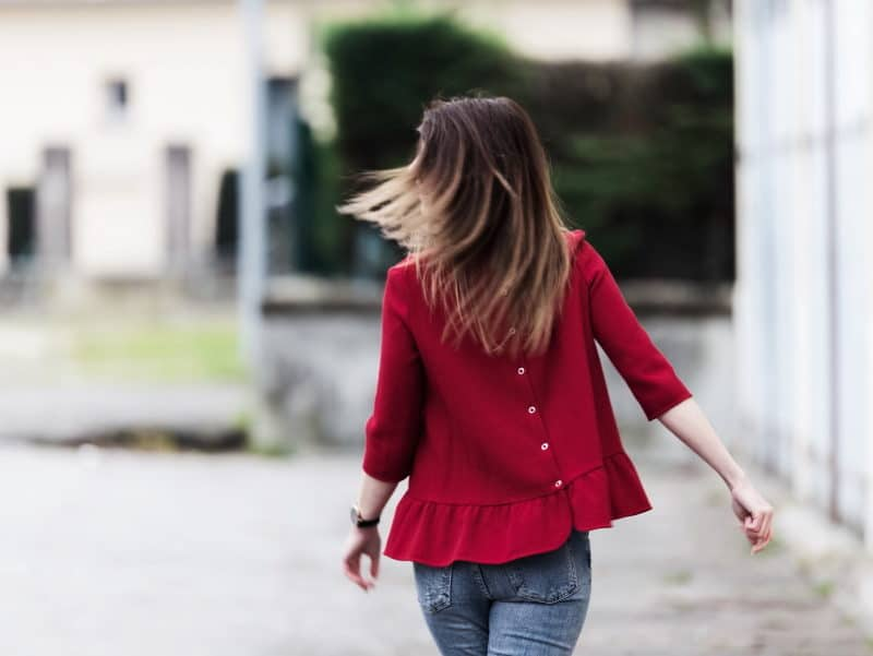 blouse peplum bombardier bonnet