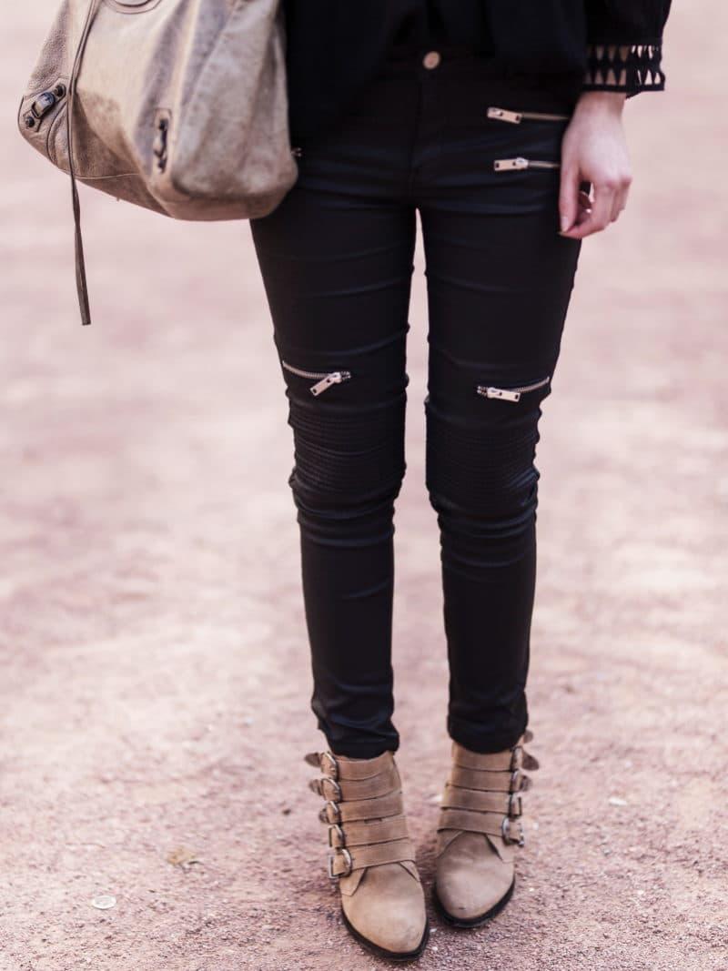 slim huilé boots balenciaga
