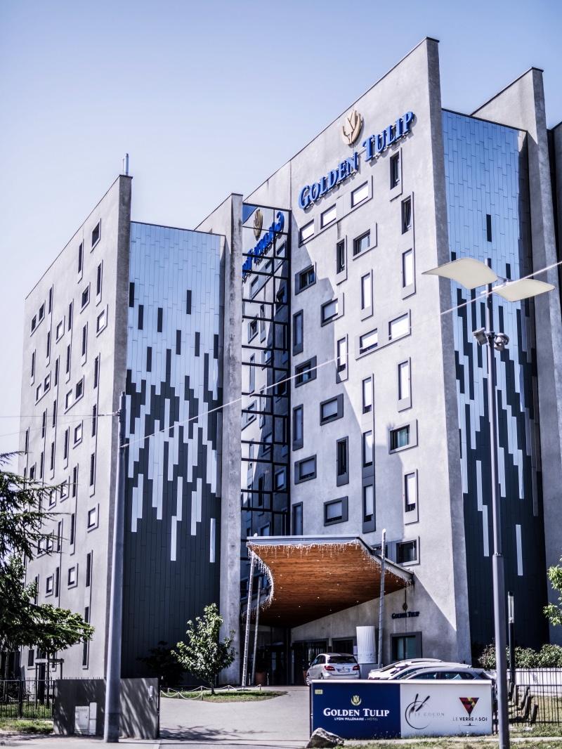 Hotel Golden Tulip Lyon blog By Opaline exterieur