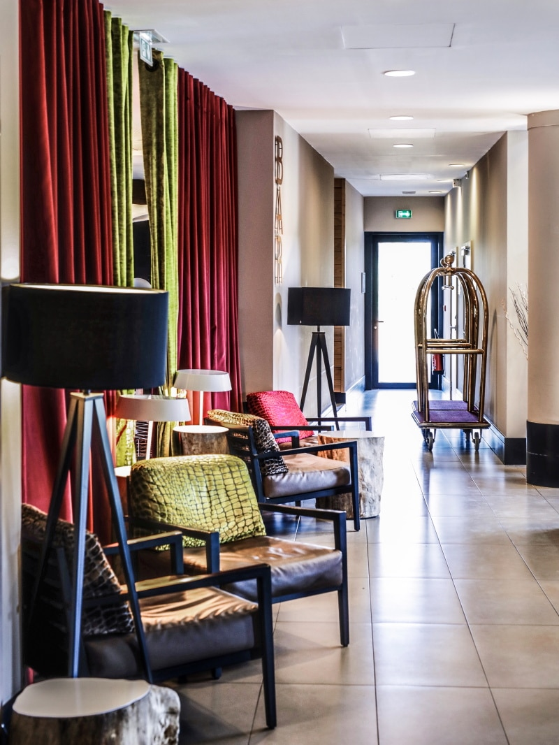 Hotel Golden Tulip Lyon blog By Opaline hall