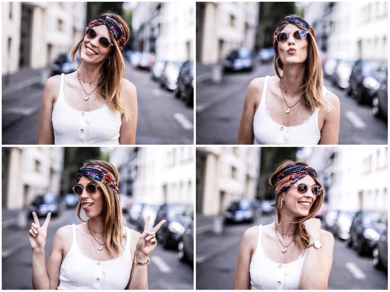 Solaires Sensee blog By Opaline quatre portraits