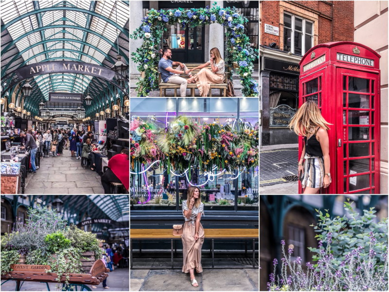 City guide Londres blog voyage By Opaline Covent Garden