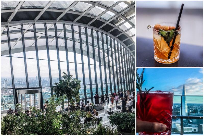 Londres végétarien bonnes adresses blog voyage By Opaline Sky Pod Bar