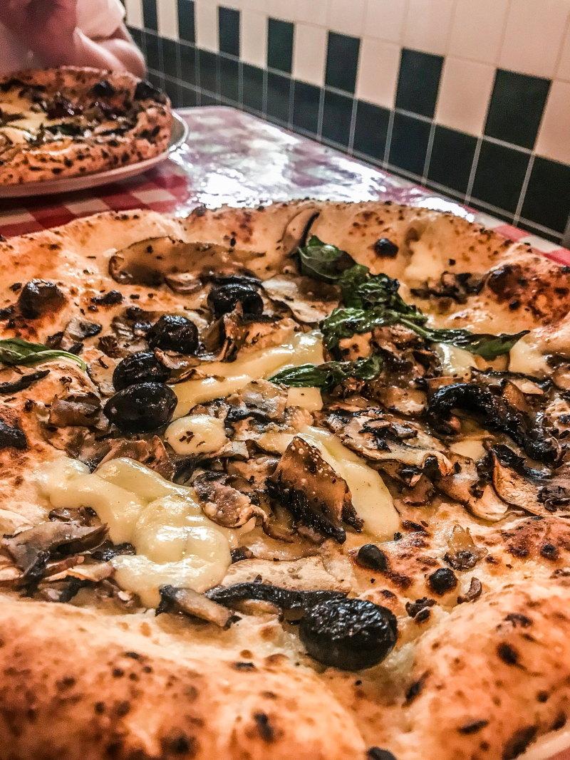 Londres végétarien bonnes adresses blog voyage By Opaline pizza pilgrims