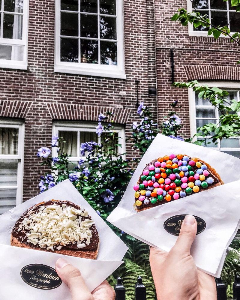 bonnes adresses Amsterdam blog voyage By Opaline van wonderen stroopwafles