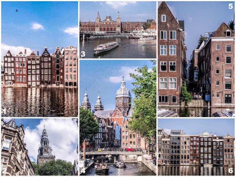 City guide Amsterdam By Opaline blog voyage centre historique