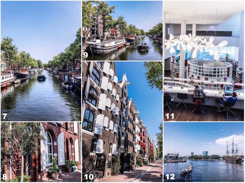 City guide Amsterdam By Opaline blog voyage îles de l'est