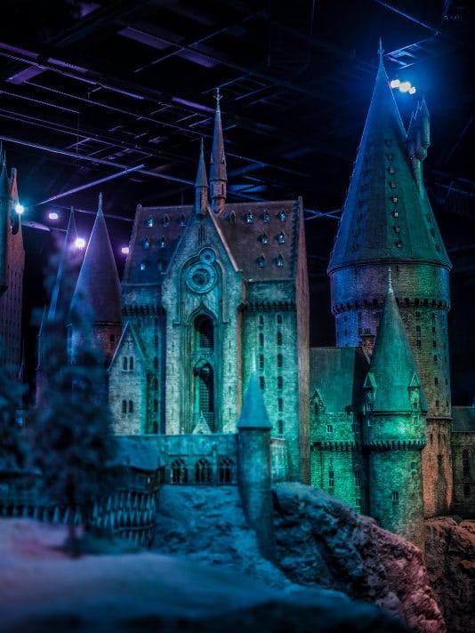 studios Harry Potter maquette château Poulard