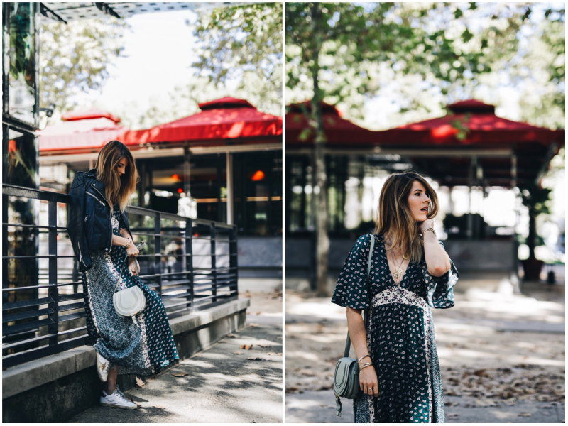 Look robe longue bohème