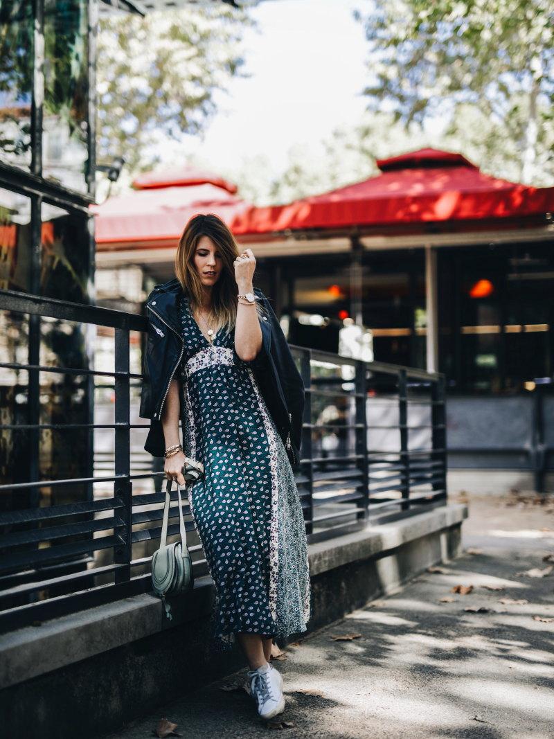 Look robe longue bohème entier