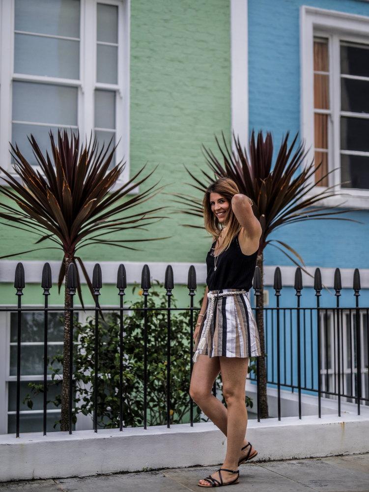 Look short taille haute mews londoniennes kensington