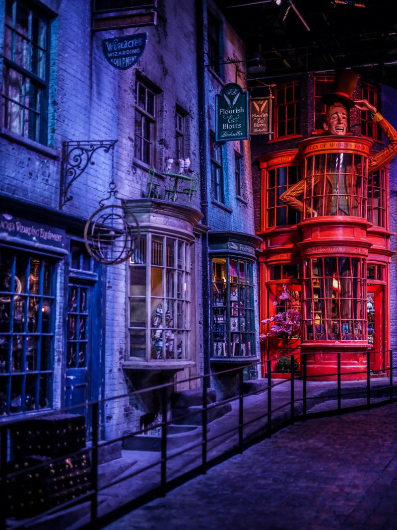 Studios Harry Potter Londres chemin de traverse