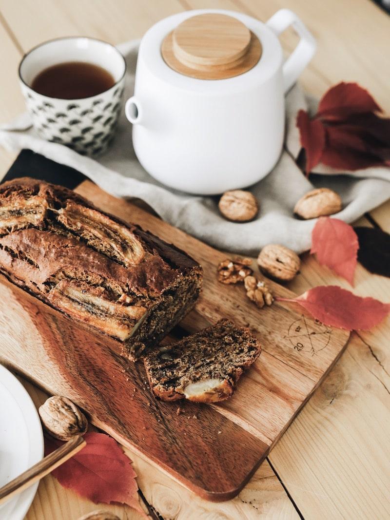 Recette banana bread vegan noix et protéine d'amande