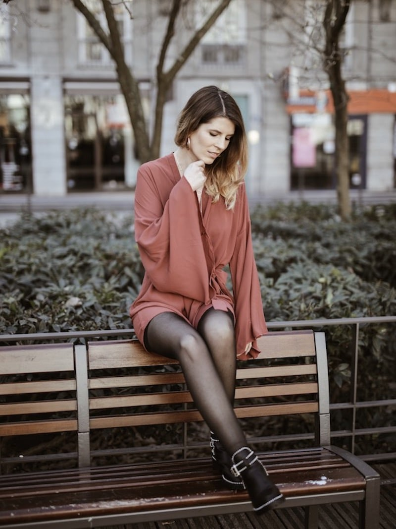 Look femme bohème Saint Valentin Boohoo blog mode By opaline