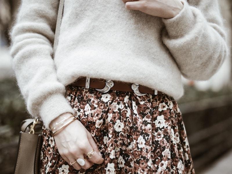 Look femme ceinture Maje western blog mode Lyon By Opaline