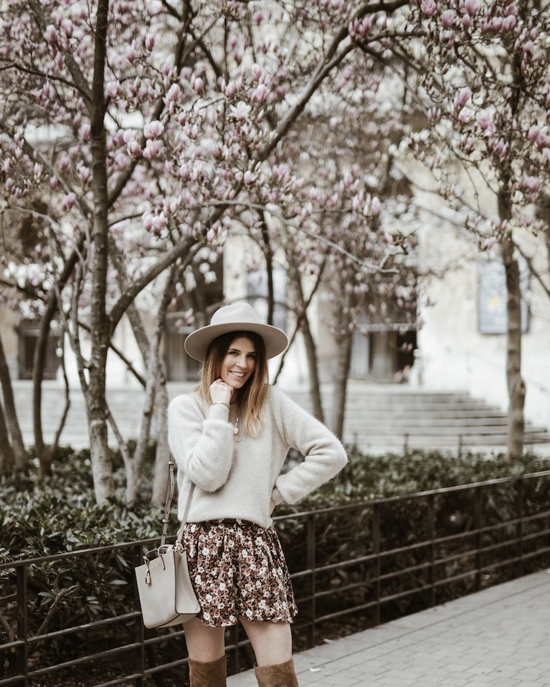 Look femme robe et chapeau Lack of Color blog mode France Lyon By Opaline