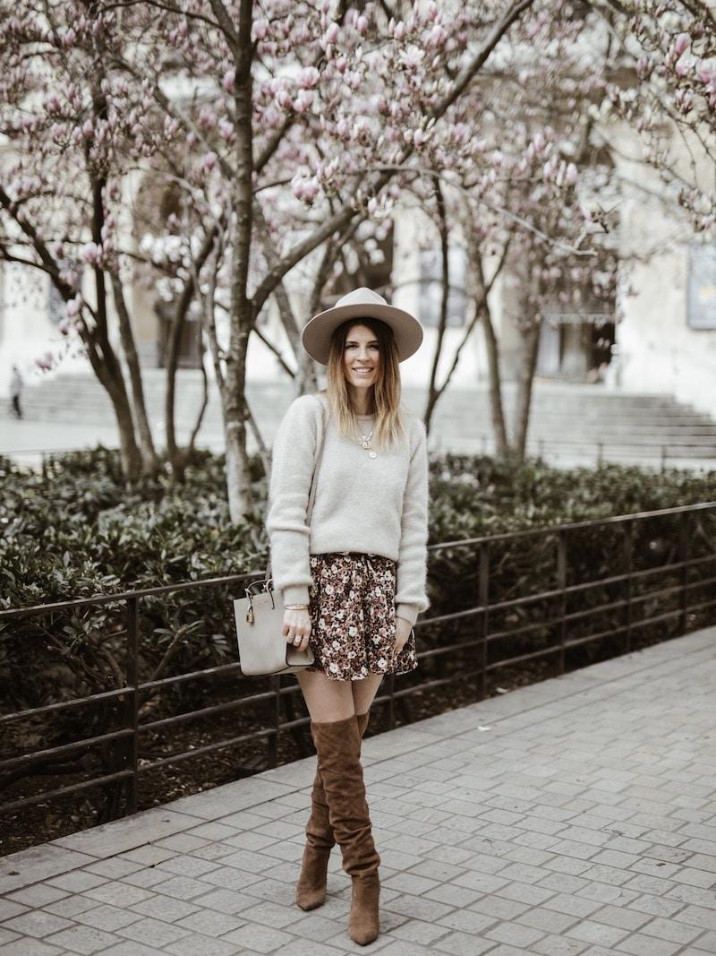 Look femme robe et cuissardes blog mode France Lyon By Opaline