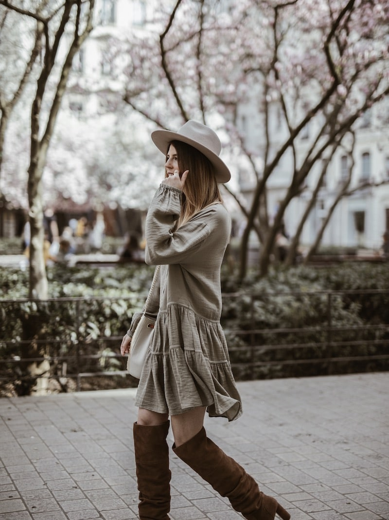 Look femme robe ample cuissardes blog mode France Lyon By Opaline