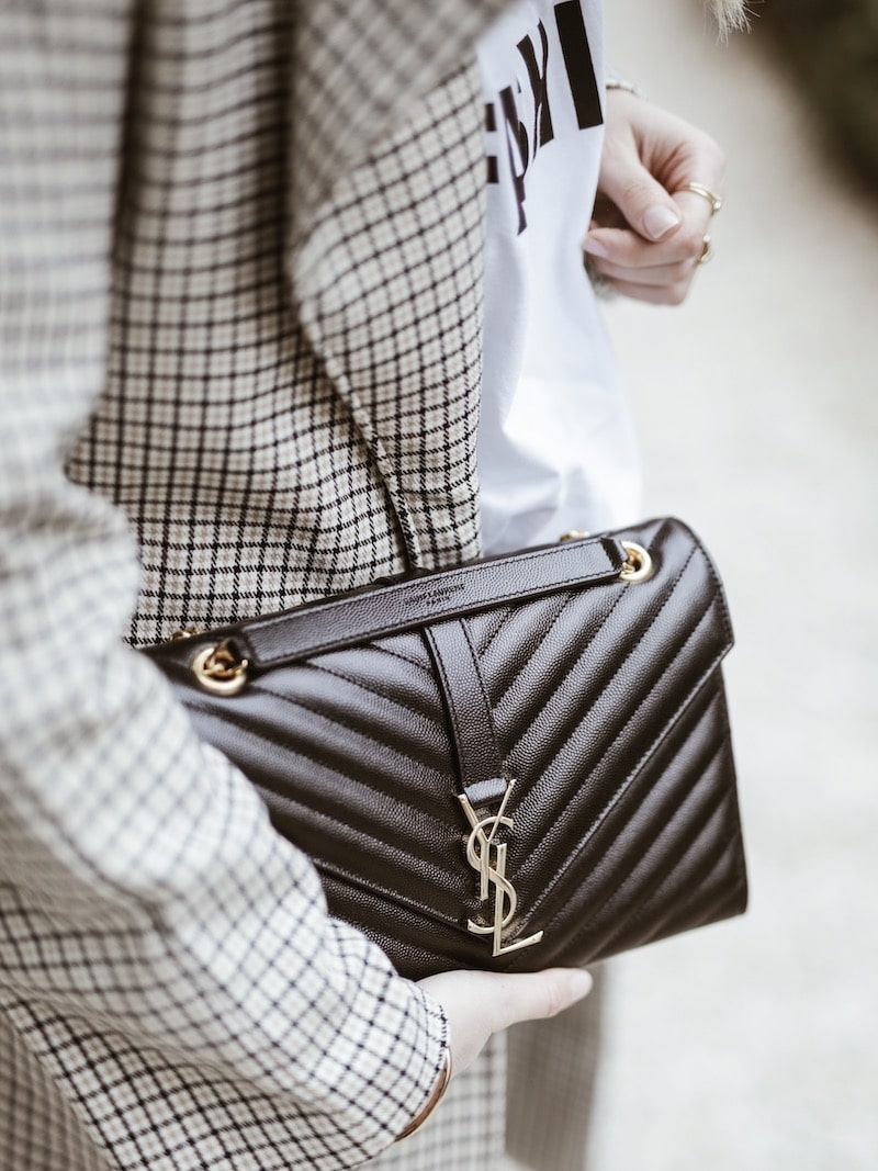 Look femme 2019 sac saint laurent blog mode France Lyon By Opaline
