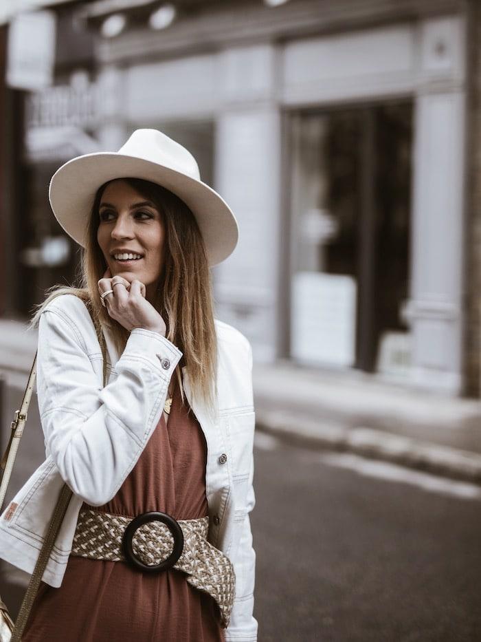 Look femme printemps 2019 accessoires chapeau Lack of Color blog mode France Lyon By Opaline