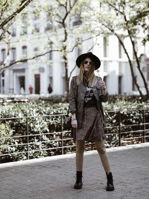 Look inspiration Coachella rock blog mode France Lyon By Opaline