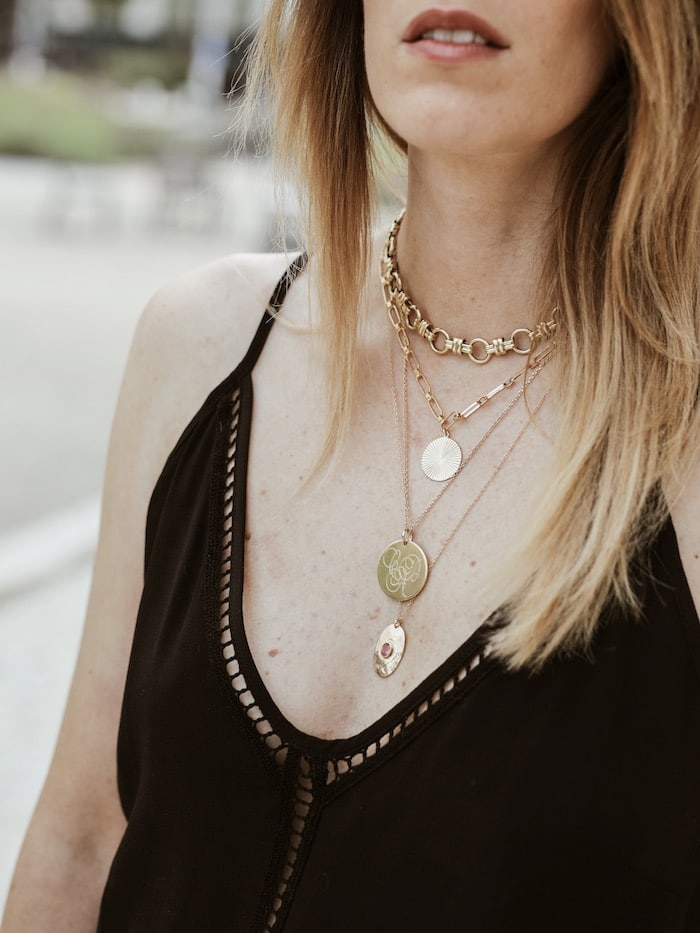 Look bijoux accumulation colliers Imaï paris, By Johanne, Emma & jeanne, Luck Team