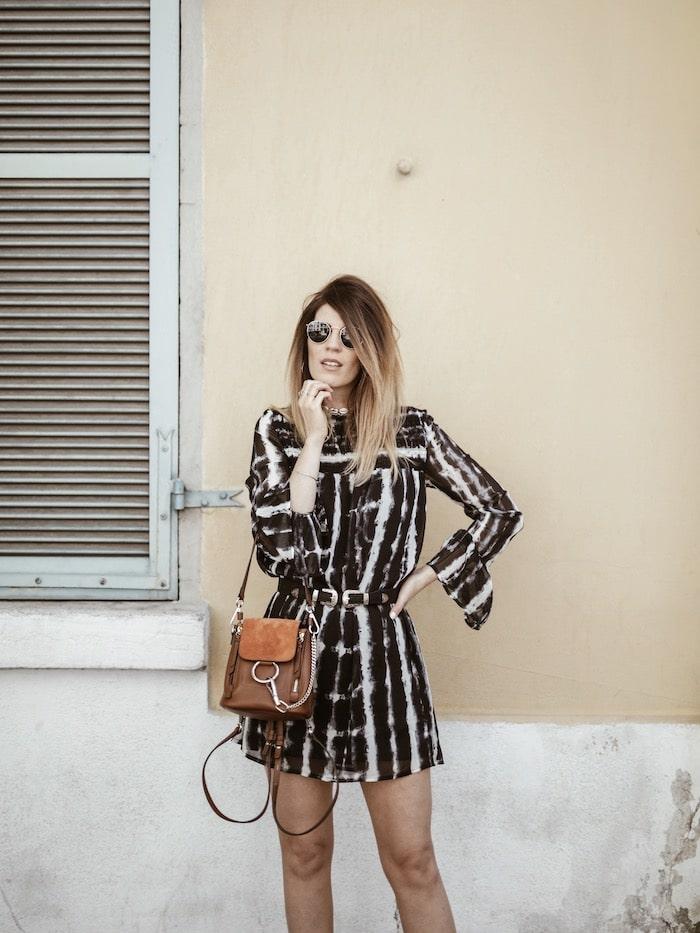Look femme printemps 2019 santiags bohème By Opaline blog mode Lyon France
