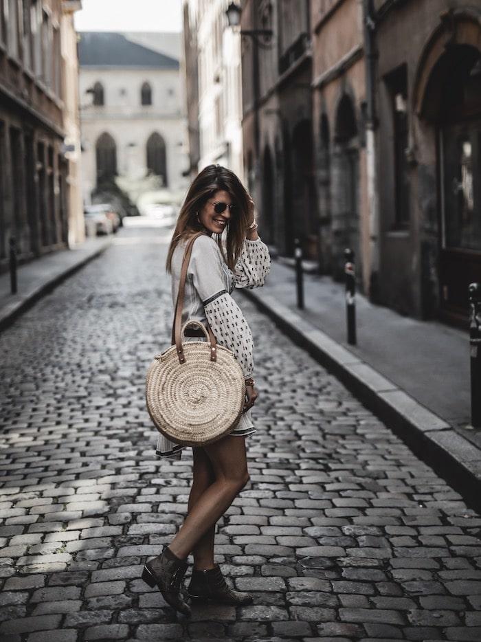 Look femme 2019 bottines Chloé Susanna blog mode France Lyon By Opaline