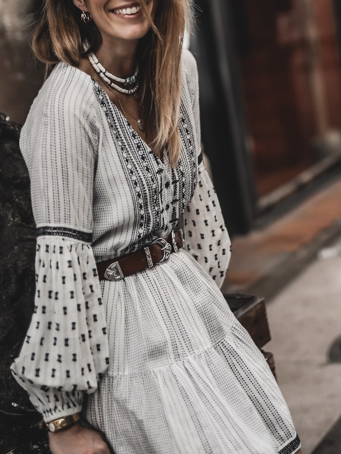 Look femme 2019 accumulation bijoux blog mode France Lyon By Opaline