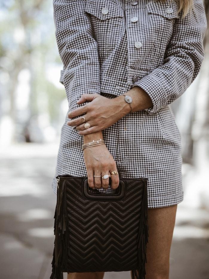 Look femme 2019 bijoux et sac M Maje blog mode By Opaline France Lyon