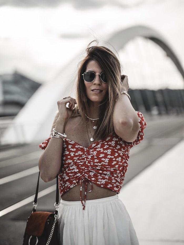 Look été summer blog mode Lyon By Opaline France accumulation colliers Stan & les anges