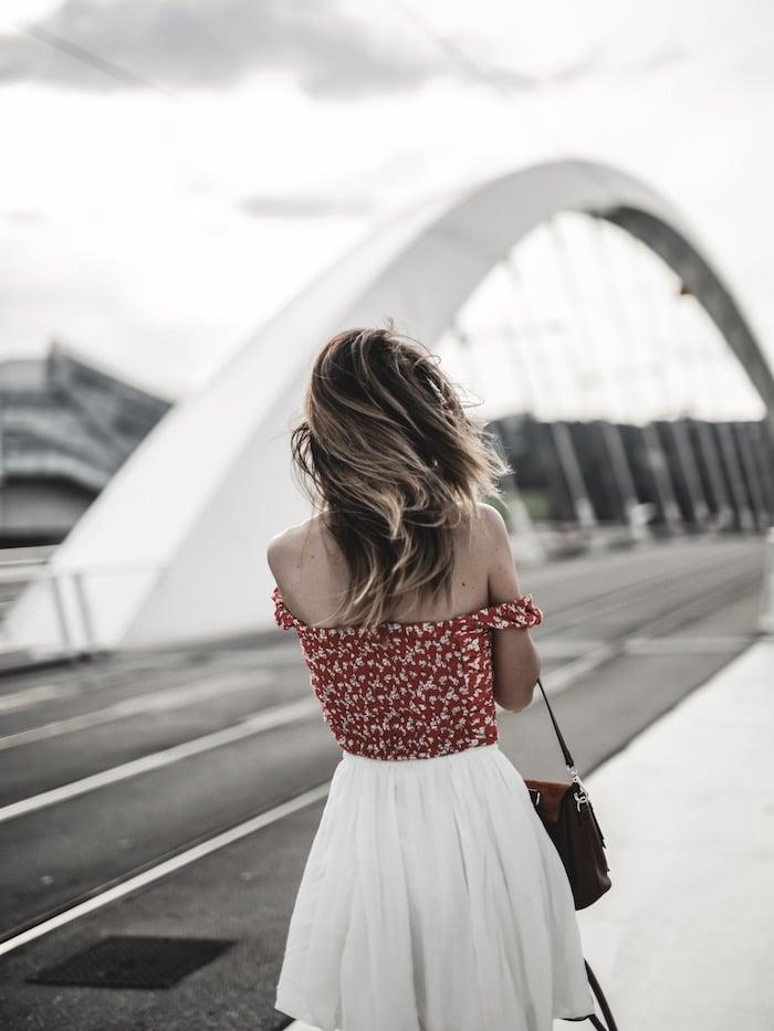 Look été summer blog mode Lyon By Opaline France ombré hair inspo cheveux
