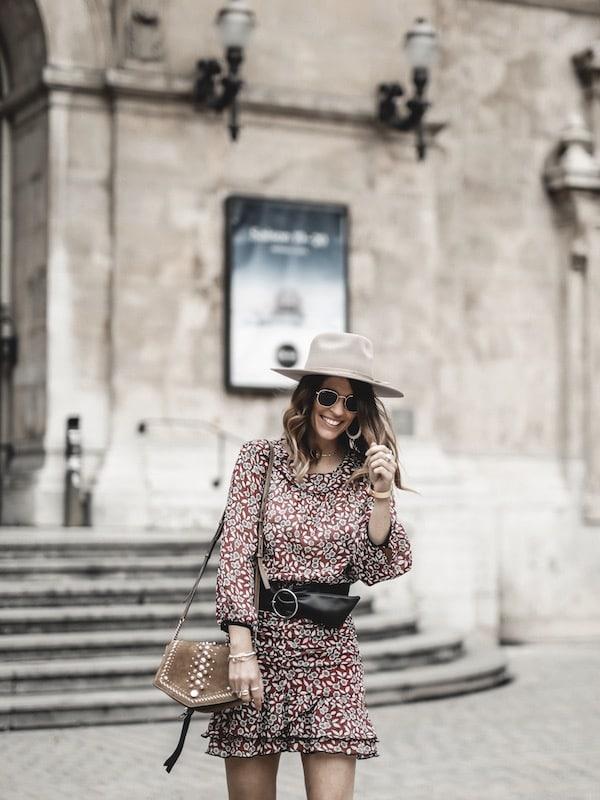 Look inspiration mode femme 2019 robe Ba&sh Billy blog mode Lyon France By Opaline